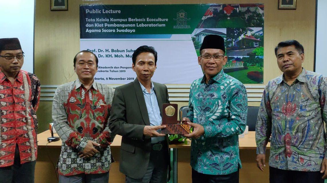Promosikan SDG's, Rektor UIN Lampung Bicara Greencampus di IAIN Surakarta