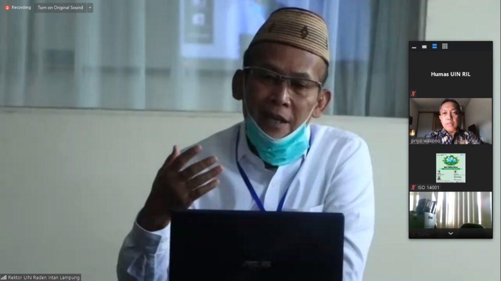 Pimpinan UIN Ikuti Workshop Implementasi ISO Sistem Manajemen Lingkungan