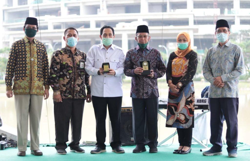 UIN Lampung Sharing Pengelolaan Kampus Hijau dengan Untirta